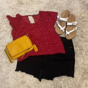 Papermoon Red Dot Top